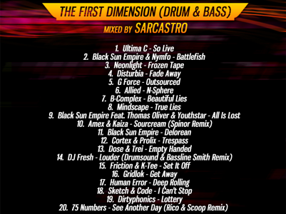 1st Dimension Back Cover