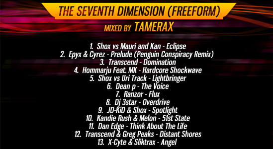 7th Dimension Back Cover
