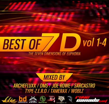 Best of 7D Volume 1-4 Album Cover