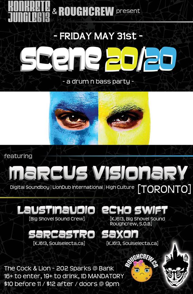 May 31st, 2013 - Scene 20/20 w/ Marcus Visionary