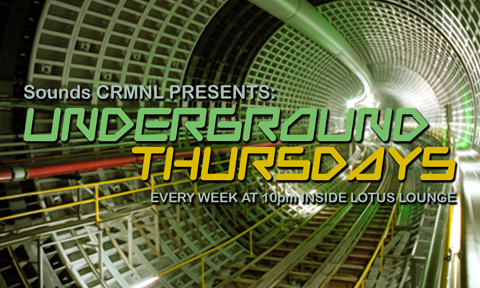 Underground Thursdays Flyer (Front)