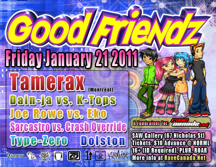 Good Friendz @ SAW Gallery, January 21 2010