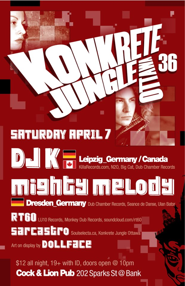 Konkrete Jungle Ottawa #36 Poster