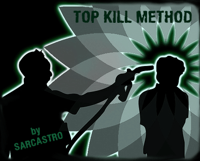 Sarcastro - Top Kill Method (Album Cover)